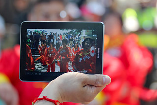 Dragon Boat Festival through the Samsung Tablet