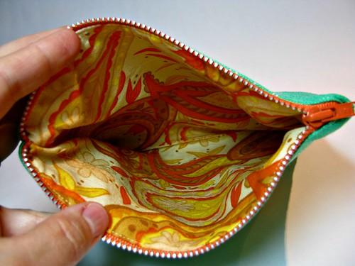 green pouch inner