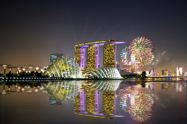 ... Garden By The Bay East Firework Gardens By The Bay Gardens By The Bay  Fireworks Dis ...