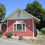 Also known as Springdale Crossing  Dover, Massachusetts  This 1862 building was originally the train station.  I remember it during the 1950s and 60s as the Dover Country Store, which had used furniture and household goods, old books and a wonderful selection of penny candy.  Dover Country Store