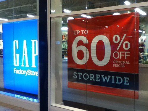 GAP up to 60% OFF