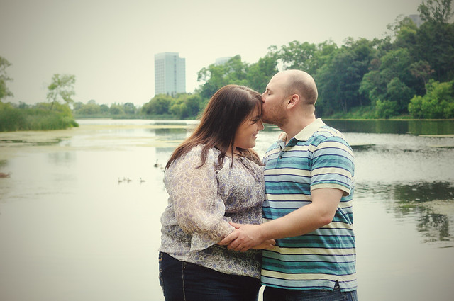 Chelsa + Alex in High Park