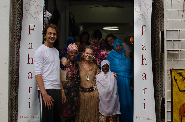 With the Women of Fahari