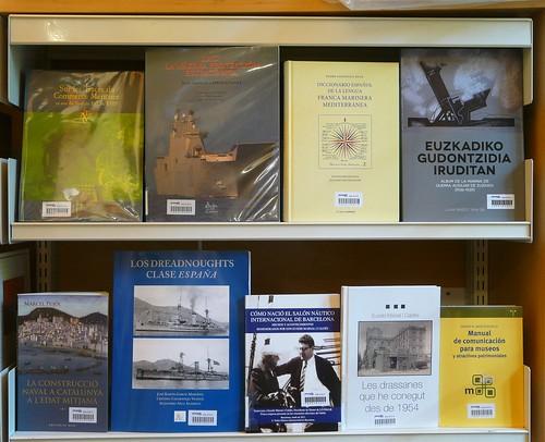 Biblioteca Museu Marítim. Novetats Juny 2012