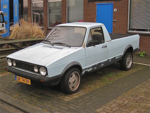 volkswagen caddy diesel pick up 1985 flickr photo. Black Bedroom Furniture Sets. Home Design Ideas