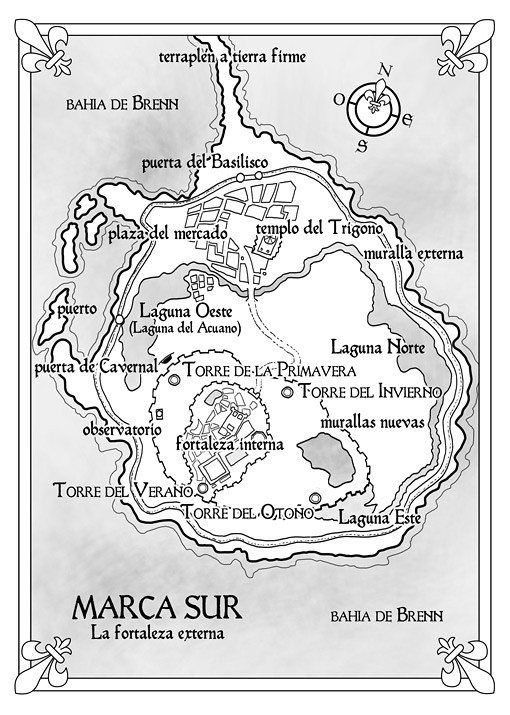 Mapa 3: Shadowmarch, La frontera de las sombras - Tad Williams - Ed. Alamut (pablouria.com)