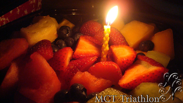 Fruitday Birthday Cake by MCT Triathlon - The Healthy Alternative to Birthday Cake