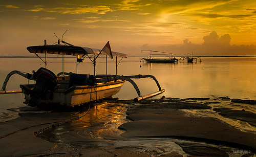 Golden Sunrise @ Sanur