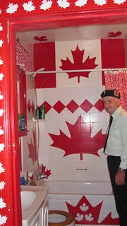 Canada House washroom