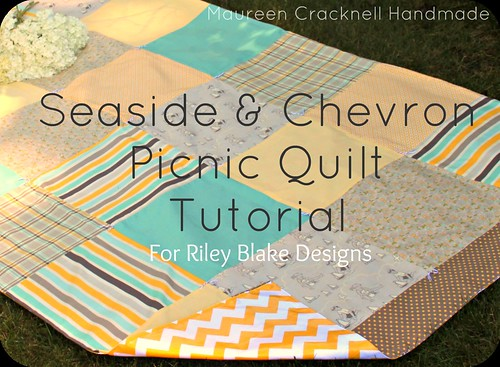 outdoor blanket picnic tutorial