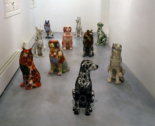 Joana Vasconcelos, Matilha [Pack of Dogs], 2005