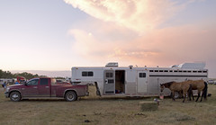 After the Red Lodge Rodeo, July 3, 2012