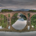 <p>One of the many old stone bridges on the way to Santiago.</p>