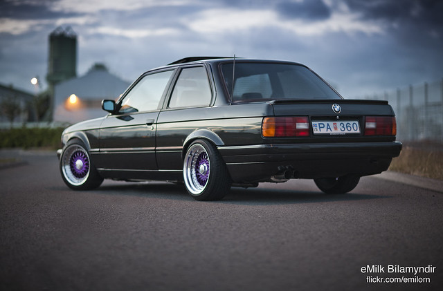Flickriver Photoset Bmw E30 325i Coupe On Purple Bbs Rs