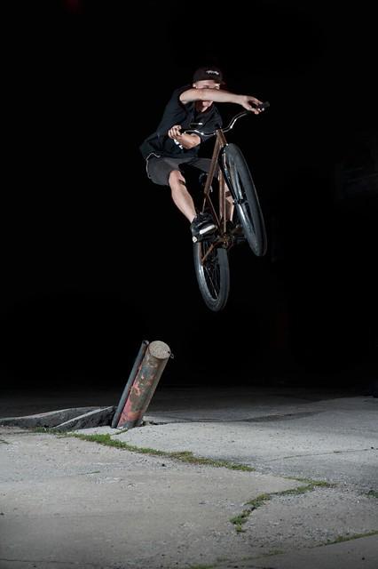 Matt Spencer - tire ride to x-up