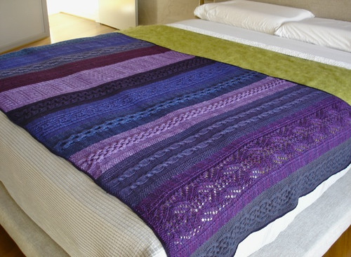 Purple blanket 1
