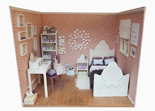 Butterfly room Diorama