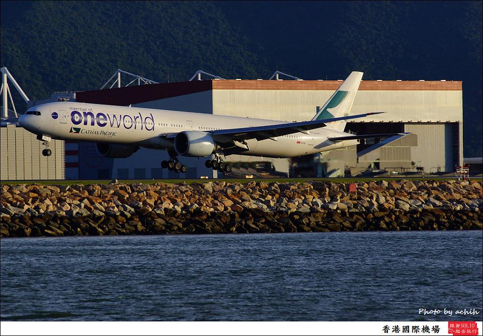 Cathay Pacific Airways /B-KPL / Hong Kong International Airport