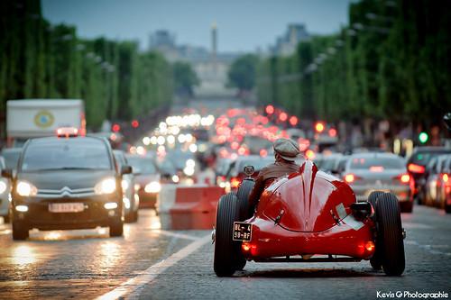Alfa Romeo F1 159 on Les Champs Elysées by Katrox - www.kevingoudin.com