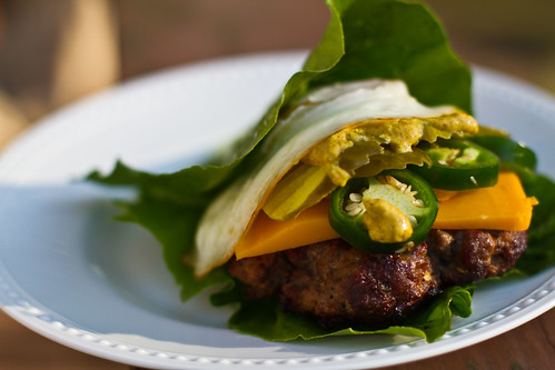 Lettuce Wrapped Super Hamburger
