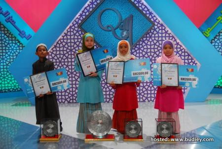 4 Finalis Akhir Qari Junior