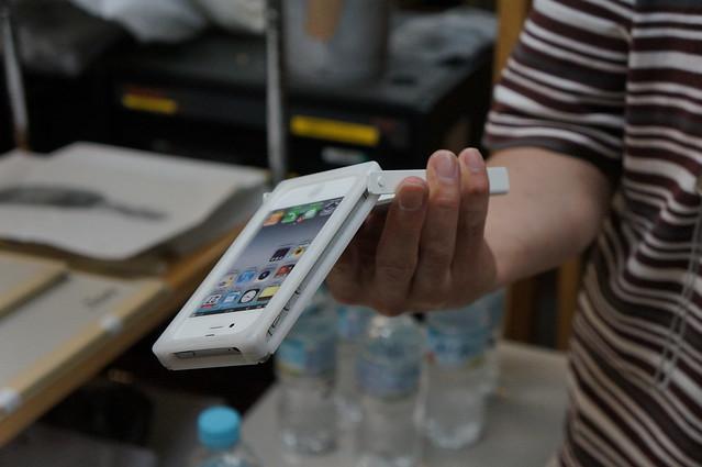 無駄にかっこいいヌンチャク系iPhoneケース