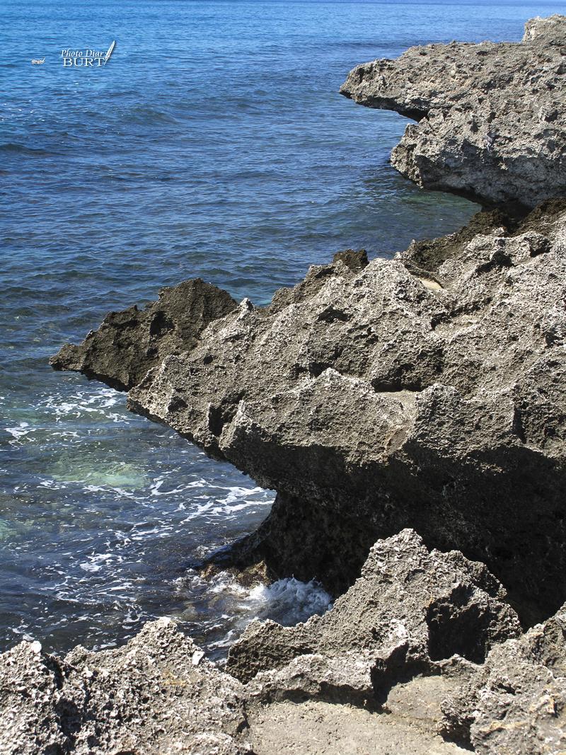 龍蝦洞附近的海蝕崖