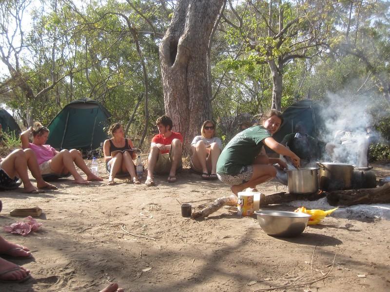 Okavango Delta Botswana Dinner Africa