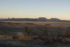 Davis Mountains Overlook at Sunset 1