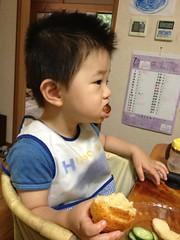 昼御飯 (2012/7/16)