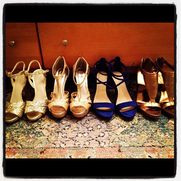 Which shoes to wear tonight?