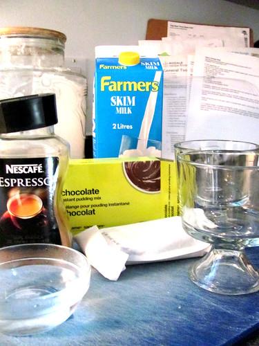 Cheap & Easy Mocha Hazelnut Pudding