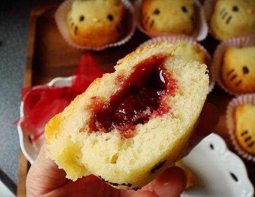 Hello Kitty Cupcake: innard