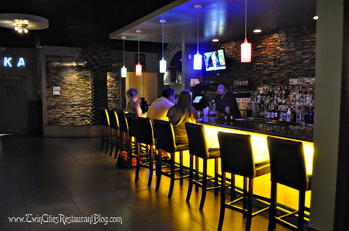 Bar Area at Osaka Sushi & Hibachi ~ Roseville, MN