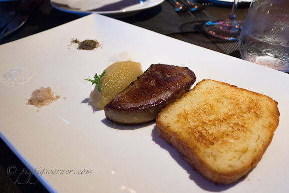 Wooloomooloo Steakhouse foie gras