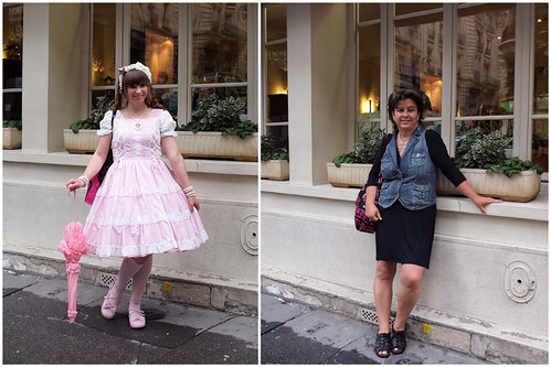 Outfit shots - Lolita and Denim