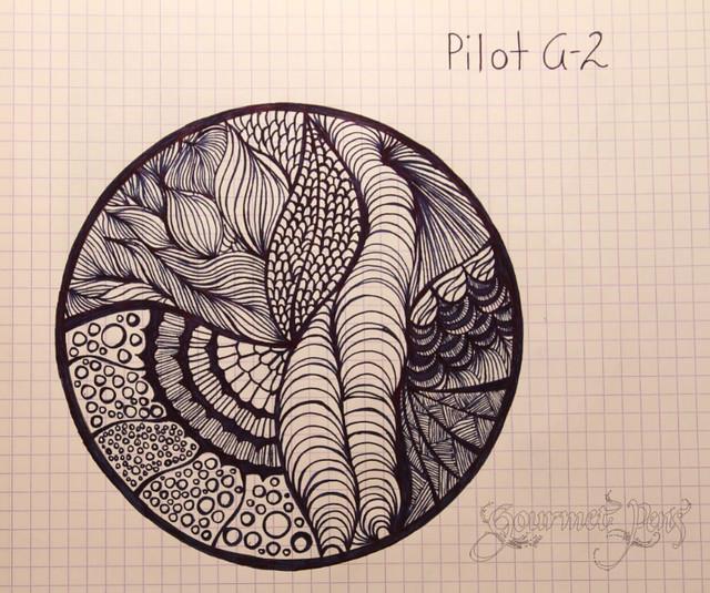 Pilot G2 Doodle