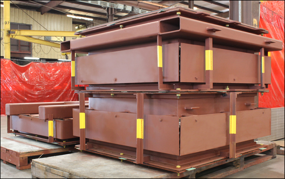 Expansion Joint Components Fabricated for a Pressure Balanced Expansion Joint in a Nuclear Facility