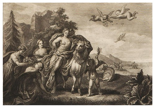 004- Cadmo va en busca de su hermana Europa-Ovid's Metamorphoses In Latin And English V.1- Bernard Picart-© UniversitättBibliotheK Heidelberg