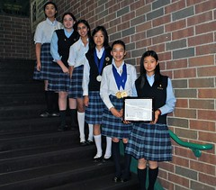 DCDS Scholastic Writing Award Winners