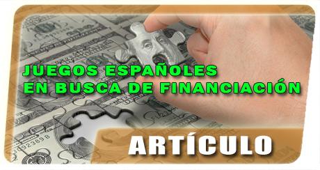Banner Juegos españoles en busca de financiación