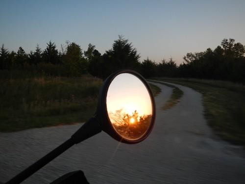 Artsy sunrise