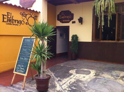 Lima (Perú) | Restaurante El Embrujo | Exterior