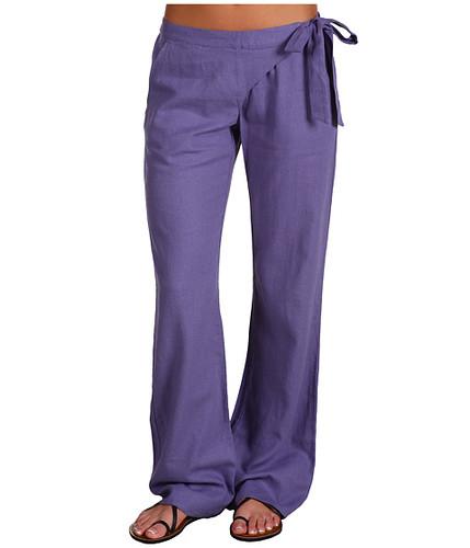 Elegant Women39s White Linen Beach Pants