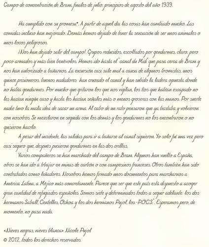 «Nievas negras, nieves blancas» del diario de Ferrán Pujol, transcrito por su hija Nicole Pujol. by Octavi Centelles