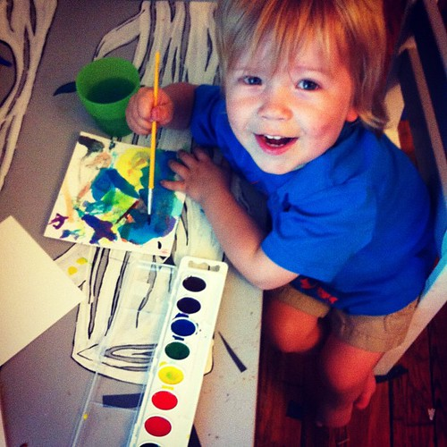 Painting with Henry