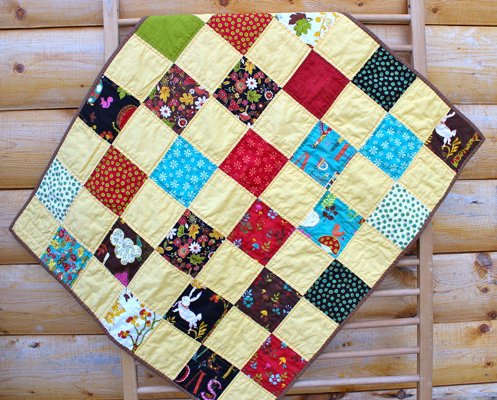Wee Woodland Baby Quilt