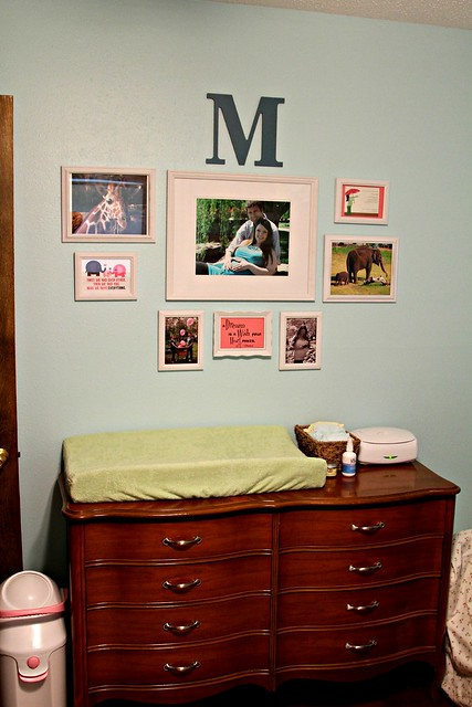 Nursery Photo Arrangement
