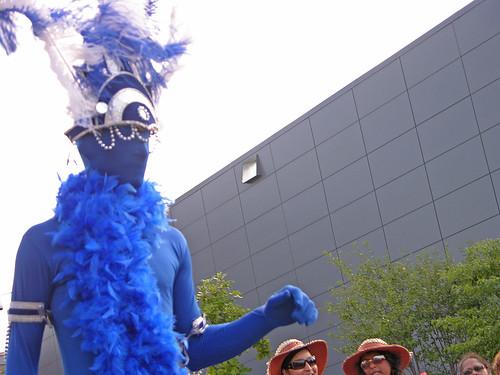 Carifest 2012 blue guy