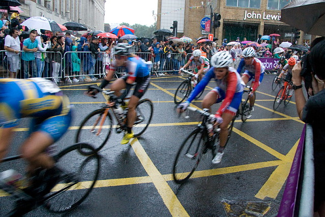 Olympic Road Race In Kingston
